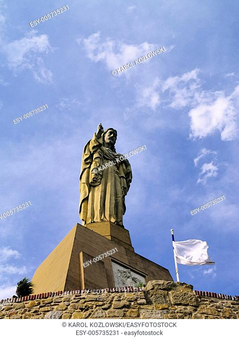 Jesus Monument in Donostia - San Sebastian, Basque Country, Spain
