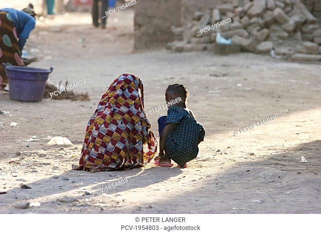 Children in Djenne, Mali
