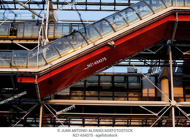 Centre Pompidou, Paris. France