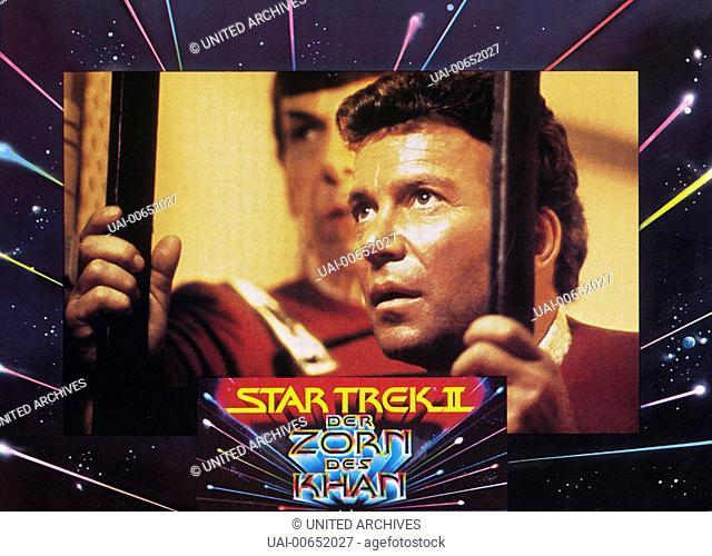 STAR TREK II - DER ZORN DES KHAN / Star Trek II - The Wrath of Khan USA 1982 / Nicholas Meyer WILLIAM SHATNER (Kirk) in 'Star Trek II - Der Zorn des Khan', 1982