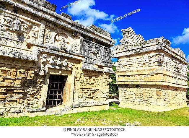 La Iglesia, Chichen Itza, Xichen, Yucatan Provence, Mexico