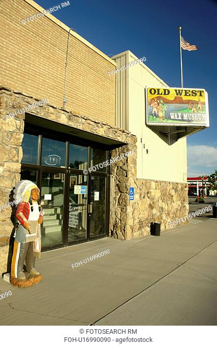 Thermopolis, WY, Wyoming, Old West Wax Museum