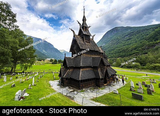 Borgund Stave Church, Vestland, Norway, Europe
