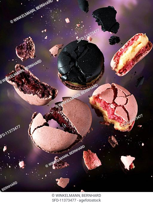 A macaroon explosion