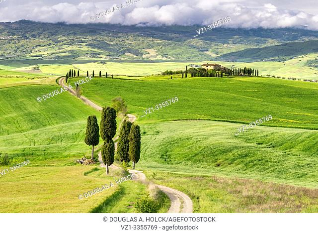 Agriturismo Terrapille Val d'Orcia Pienza Italy World Location