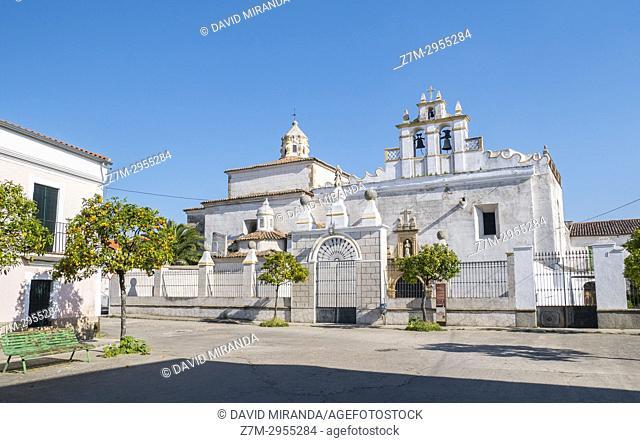 Iglesia de San Francisco. Alburquerque. Badajoz. Extremadura. Spain