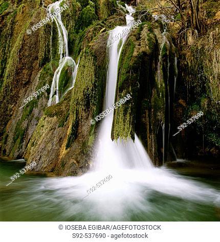 Andoin. Falls. Alava. Euskadi. Spain