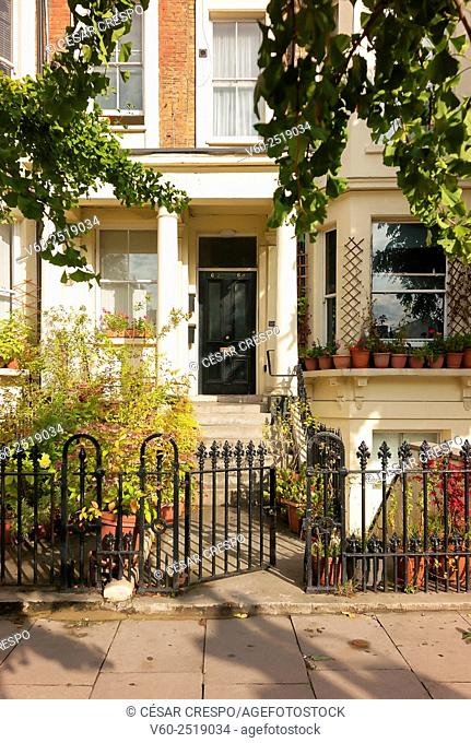 -Houses in Earl's Court Zone-London United Kingdom