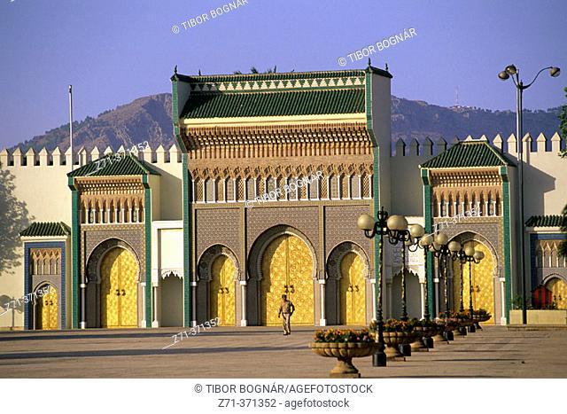 Royal Palace. Fes. Morocco