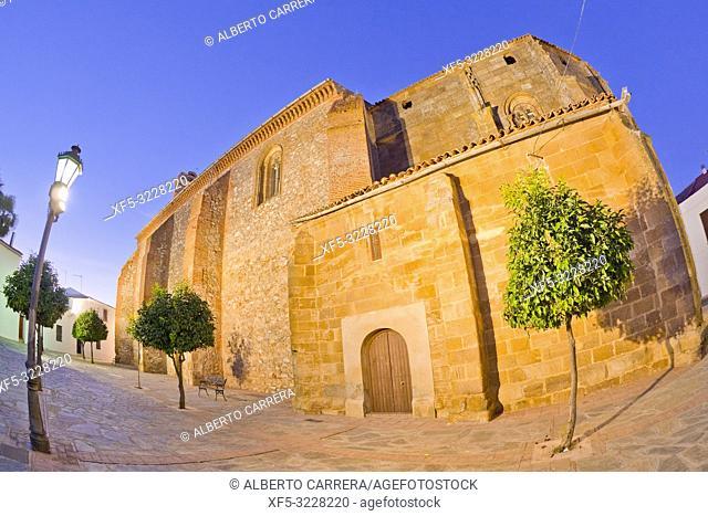 Church of Santiago Apóstol, Historical Center, Historic Artistic Ensemble, Llerena, Badajoz, Extremadura, Spain, Europe