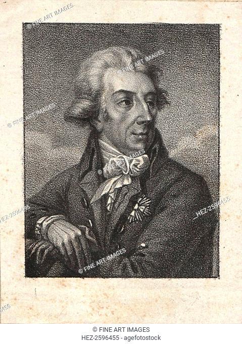 Prince Adam Jerzy Czartoryski (1770-1861). From a private collection