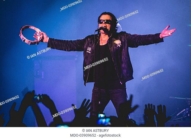 Singer Ian Astbury, front man of the band The Cult, in concert at Alcatraz. Milan, Italy. 26th June 2017