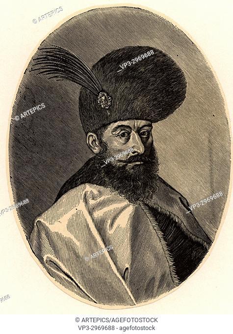 Michael The Bold, ruler of Walachia 1593-1601