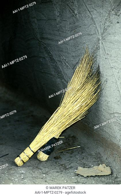 Ethnic broom, Vrede area, Free State, South Africa