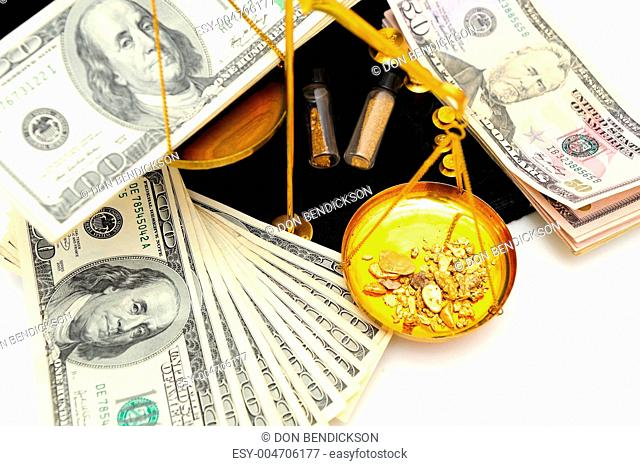 Raw Gold And Money