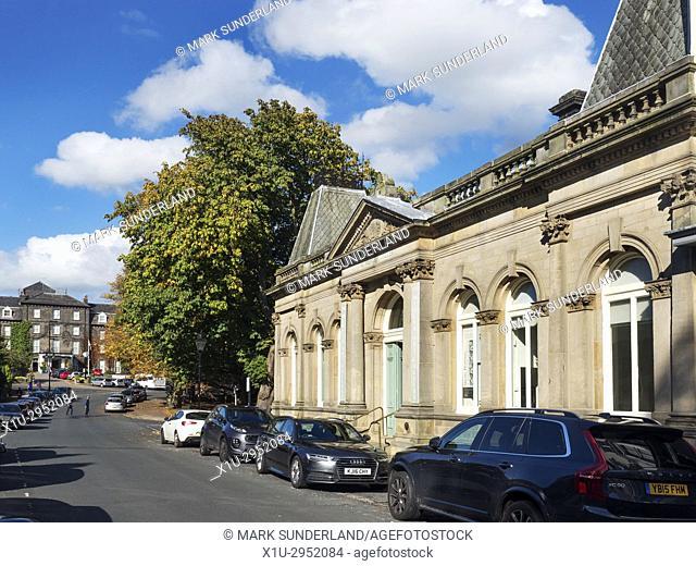 The Mercer Art Gallery in Harrogate North Yorkshire England