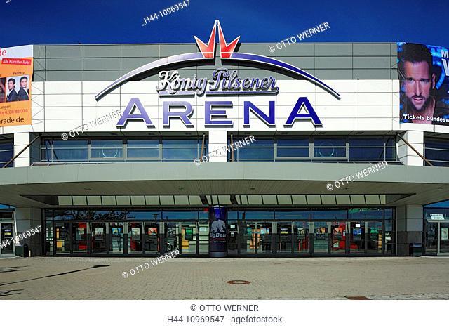 Germany, Europe, Oberhausen, Germany, Europe, Neue Mitte, Ruhr area, Lower Rhine, Rhineland, North Rhine-Westphalia, König Pilsener arena, multipurpose hall
