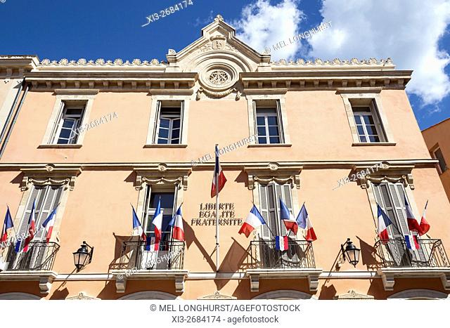 Town Hall, Saint Tropez, France
