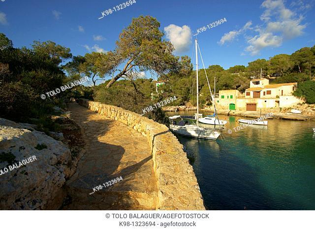 Es Calo den Boira. Cala Figuera. Santanyi. Migjorn. Mallorca.Islas Baleares. Spain