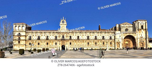 The city of Leon provided to pilgrims walking the Camino de Santiago a good hospital care. Of all the most famous centers is the Convent of San Marcos