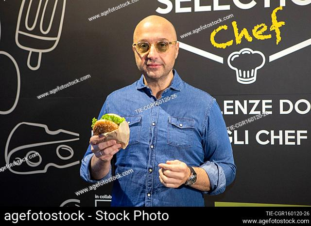 Joe Bastianich presents 'My selection 2020' of McDonald's, Milan, Italy - 16 Gen 2020
