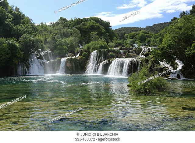 Waterfall at Krka National Park, Croatia