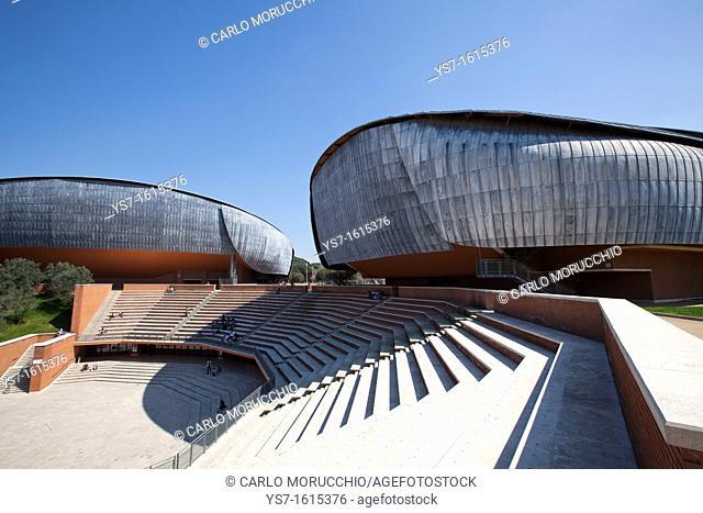 Concert hall at Music parc, Rome, Lazio, Italy, Europe