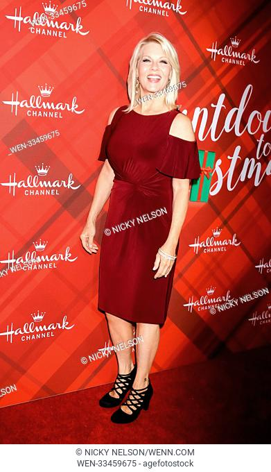 Hallmark's 'Christmas at Holly Lodge' screening at 189 The Grove Drive - Arrivals Featuring: Barbara Niven Where: Los Angeles, California
