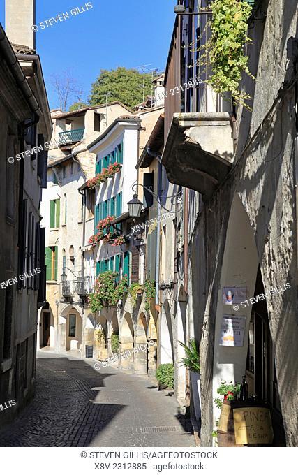 Via Browning Street, Asolo, Italy, Veneto