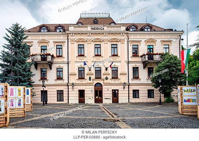 Veszprem,town hall, Hungary