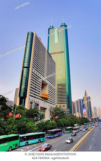 China , Shenzhen City,Shennan Road East , Shun Hing Tower