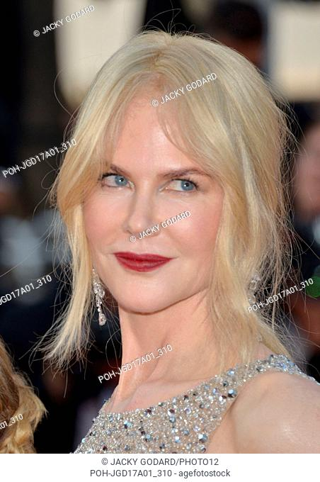 Nicole Kidman Arriving on the red carpet for the film 'The Beguiled' 70th Cannes Film Festival May 24, 2017 Photo Jacky Godard