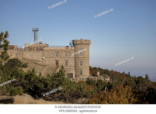 Aigoual mont meteorological observatory