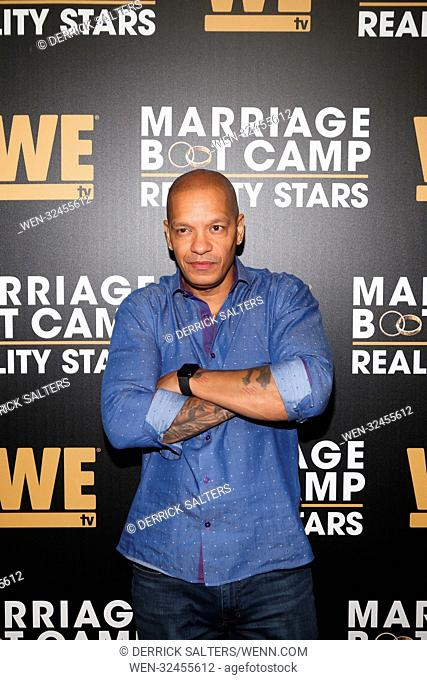 We TV celebrates the return of their hit series 'Marriage Boot Camp: Reality Stars', at The Attic Rooftop & Lounge in New York City