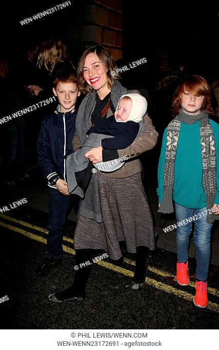 Arrivals at Skate at Somerset House for Fortnum and Mason VIP Launch Featuring: Camilla Rutherford Where: London, United Kingdom When: 17 Nov 2015 Credit: Phil...