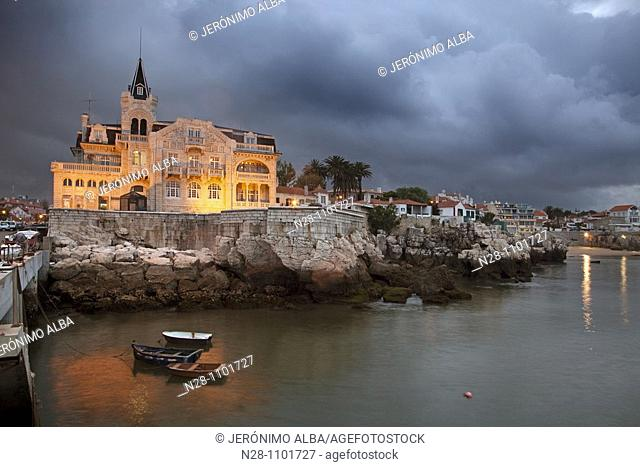 Fishing port. Cascais, Portugal
