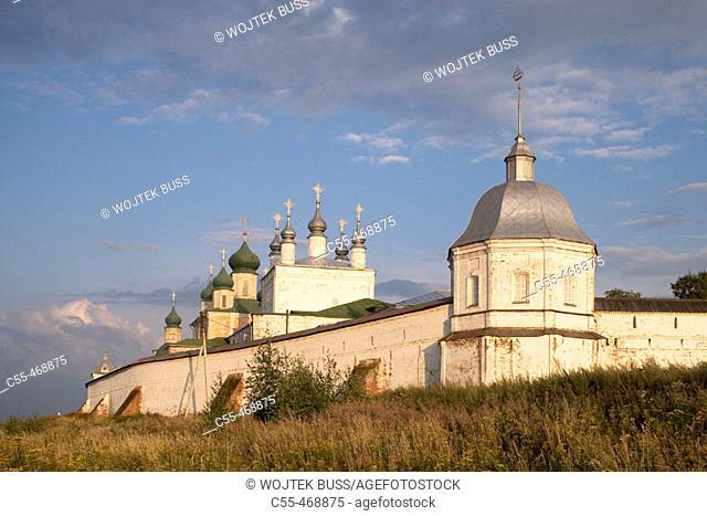 Goritsky Monastery (17th-18th centuries), Pereyaslavl-Zalessky. Golden Ring, Russia