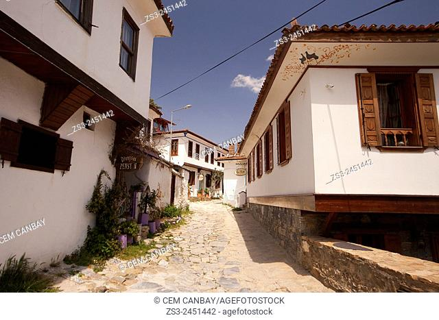Traditional buildings in the mountain village Sirince, Lycia, Selcuk, Izmir, Turkey, Europe