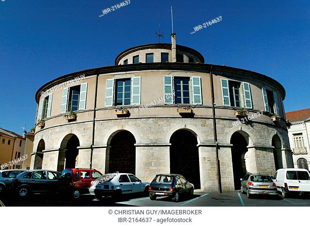 Town hall, Ambert, Puy de Dome, Auvergne, France Europe