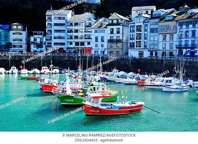 Luarca is the principal town in the municipality of Valdés in Asturias, Spain