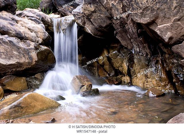 thottikallu falls or TK Falls near Bannerghatta in Bangalore at Karnataka India Asia