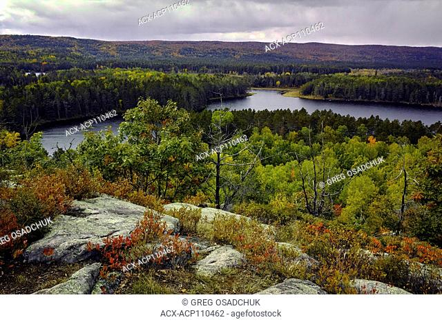 Stringer Lake, Algonquin Provincial Park, Ontario, Canada