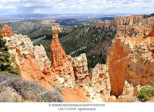 Agua Canyon Bryce Canyon National Park Utah