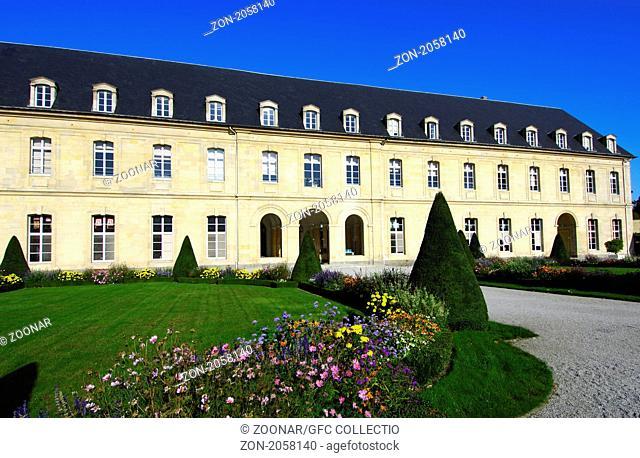 Flügel Sainte-Anne, Ehrenhof, Frauenkloster Sainte-Trinité, Caen, Frankreich / Sainte-Anne wing and Cour d'Honneur, L'abbaye aux Dames, Abbey of Women, Caen