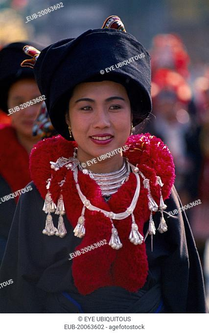 Mien Woman Thailand Stock Photos And Images Agefotostock