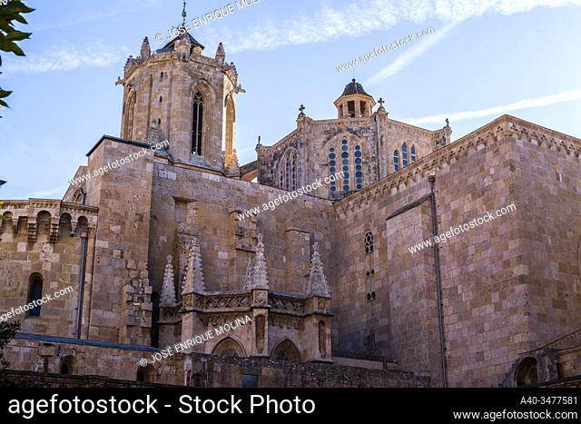 Historic center of Tarragona, Tarragona Cathedral, Catalonia, Spain