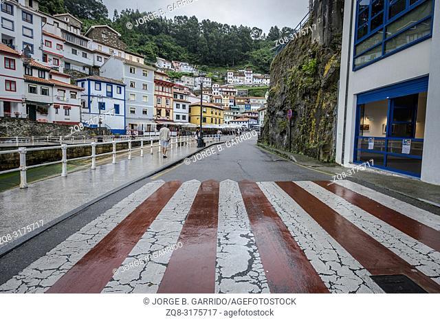 Cudillero, small and beautiful fishing village in Asturias, Spain
