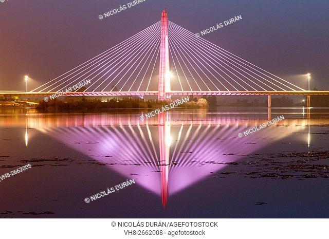 Guadiana River, Puente Real (Royal Bridge). Badajoz. Extremadura. Spain
