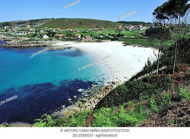 The beach of Barizo. Malpica de Bergantiños, La Coruña, Spain