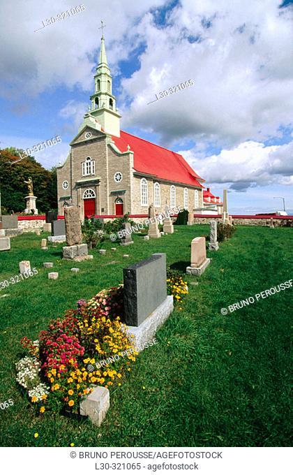Saint Jean. Orléans Island. Québec. East Canada
